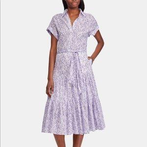 Ralph Lauren Petite Tiered Hem Dress